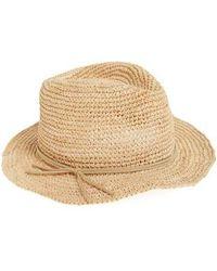 Caslon - Caslon Raffia Panama Hat - Lyst