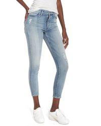 Hudson Jeans - Barbara High Waist Crop Skinny Jeans - Lyst