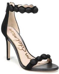 Sam Edelman - Sam Edelmen Addison Embellished Ankle Strap Sandal - Lyst