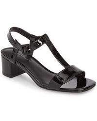 Grey City - T-strap Sandal - Lyst