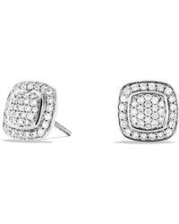 David Yurman - 'albion' Earrings With Diamonds - Lyst