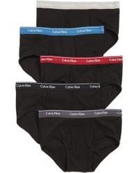 Calvin Klein - Classic 5-pack Cotton Briefs, Red - Lyst