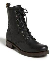 Frye - 'veronica Combat' Boot - Lyst