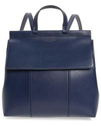 Tory Burch - Block T Leather Backpack - Lyst