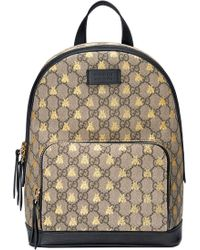 08200f6888fa Gucci Gg Caleido Canvas Backpack in Green - Lyst