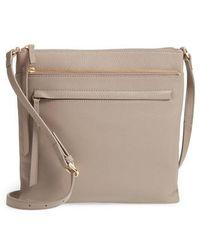 Nordstrom - Finn Leather Crossbody Bag - Lyst