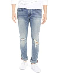 Blank NYC - Horatio Distressed Skinny Fit Jeans - Lyst