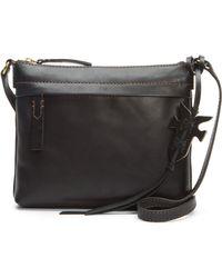 Frye - Carson Leather Crossbody Bag - - Lyst