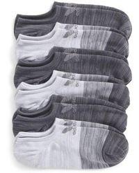 adidas Originals - Blocked 4-pack Socks, Grey - Lyst