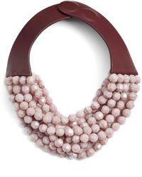 Fairchild Baldwin - Bella Beaded Collar Necklace - Lyst