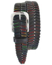 Martin Dingman - 'livingston' Leather Belt - Lyst