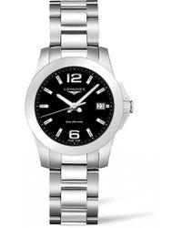 Longines - Conquest Bracelet Watch - Lyst