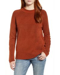 Caslon - Caslon Cozy Crewneck Sweater - Lyst