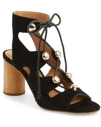 Rebecca Minkoff | Adiv Ghillie Cage Sandal | Lyst