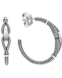 Lagos - Derby Caviar Hoop Earrings - Lyst