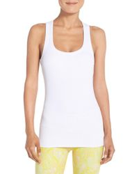 Alo Yoga - Support Ribbed Racerback Tank - Lyst