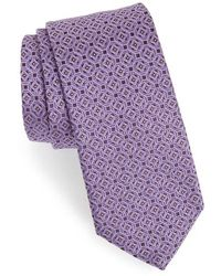 Eton of Sweden - Medallion Silk Tie - Lyst