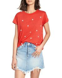 Wildfox - Football Star No.9 Tee - Lyst