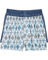 Hanro - 2-pack Fancy Woven Boxers - Lyst