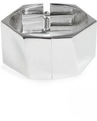 Cara - Sculpted Cuff Bracelet - Lyst
