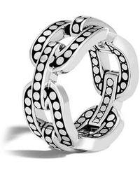 John Hardy - Dot Band Ring - Lyst