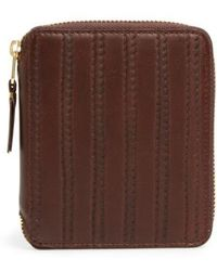 Comme des Garçons - 'embossed Stitch' French Wallet - Lyst