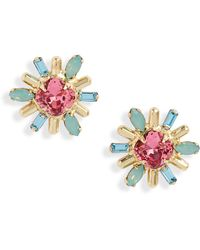 Sorrelli Luna Stud Earrings - Metallic