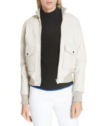 Rag & Bone - Mila Lambskin Leather Jacket - Lyst