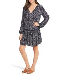 Rip Curl - Nighthawk Drop Waist Dress - Lyst