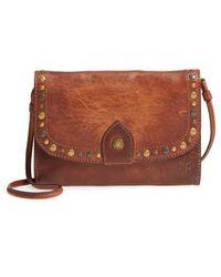 Frye - Melissa Western Calfskin Leather Crossbody Wallet - Lyst