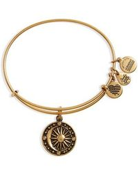 ALEX AND ANI - Cosmic Balance Adjustable Wire Bangle - Lyst