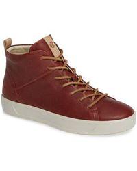 Ecco - Soft 8 High Top Ii Sneaker - Lyst
