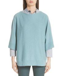 Lafayette 148 New York - Cashmere Dolman Sleeve Sweater - Lyst
