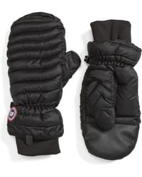 Canada Goose - Lightweight Quilted Mittens - Lyst