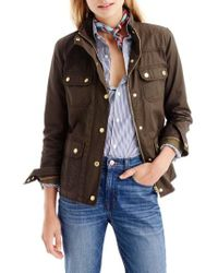 J.Crew | J.crew Downtown Field Jacket | Lyst