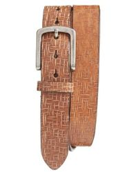 Torino Leather Company - Leather Belt - Lyst