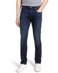 PAIGE - Federal Slim Straight Leg Jeans - Lyst