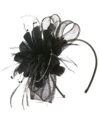 Nordstrom - Feather & Imitation Pearl Fascinator Headband - Lyst