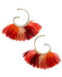 Gas Bijoux - 'buzios' Feather Earrings - Lyst