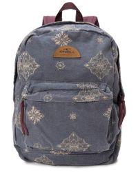 O'neill Sportswear - Beachblazer Print Canvas Backpack - - Lyst