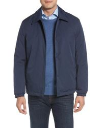 Cole Haan - Faux Shearling Lined Jacket - Lyst