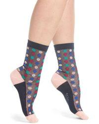 Paul Smith - Gloria Spot Crew Socks - Lyst