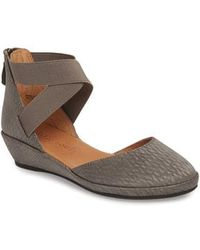 Gentle Souls - By Kenneth Cole 'noa' Elastic Strap D'orsay Sandal - Lyst
