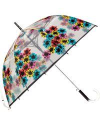 Shedrain - 'the Bubble' Auto Open Stick Umbrella - - Lyst