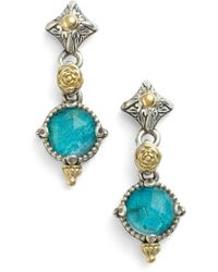 Konstantino - 'iliada' Double Drop Earrings - Lyst