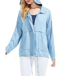 Two By Vince Camuto - Tencel Lyocell Jacket - Lyst