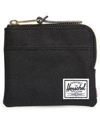 Herschel Supply Co. - 'johnny' Half Zip Wallet - Lyst
