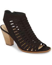 Paul Green - Rosa Woven Peep Toe Sandal - Lyst