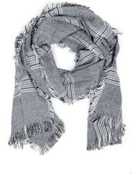 Sole Society - Houndstooth Scarf - Lyst