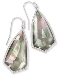Kendra Scott - Carla Semiprecious Stone Drop Earrings - Lyst